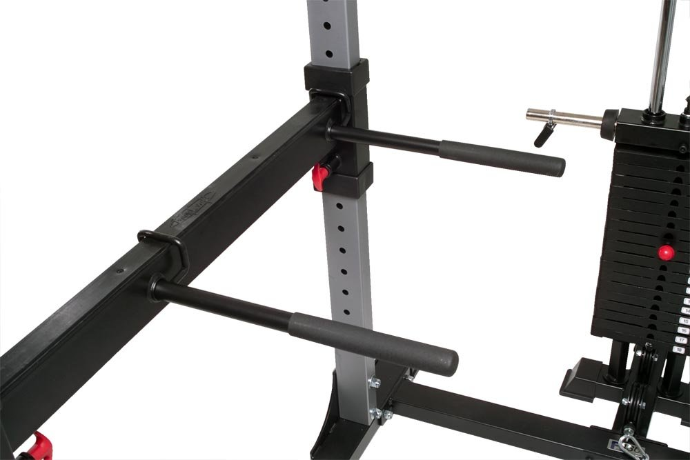 Bodycraft F432 Dip Attachment for Power Rack by Bodycraft (Image #2)