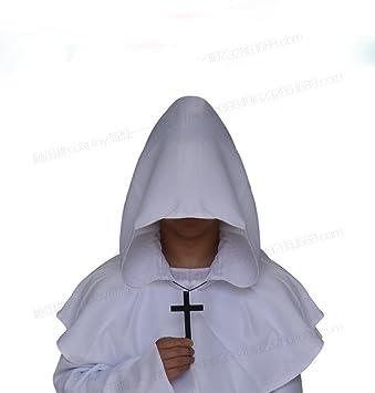 WLM Traje de Cosplay de Halloween, Ropa de Monje Medieval ...