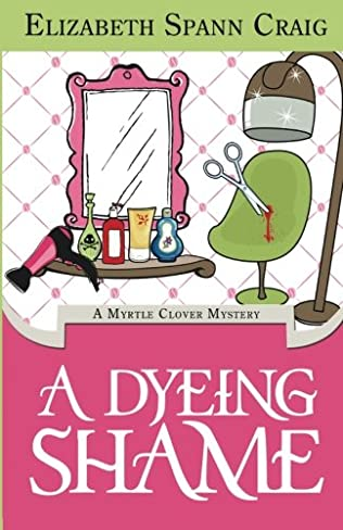 book cover of A Dyeing Shame