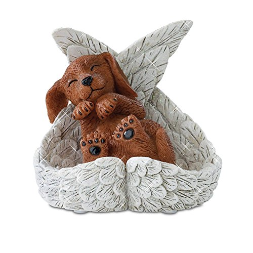 Blake Jensen Dachshunds: Precious Paw Prints From Heaven Figurine by The Hamilton Collection (Angel Dachshund)