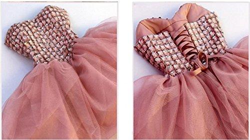 Abendkleider Crystal Gowns Heimkehr Damen Kurz Ballkleid Ball 2016 Pink Blue Fanciest Cocktail 6HWSUgnUt