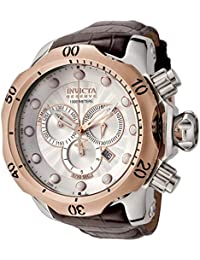 Mens 0359 Reserve Collection Venom Chronograph Brown Leather Watch