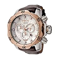 Men's 0359 Reserve Collection Venom Chronograph Brown Leather Watch