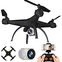 DZT1968 KY501 6-Axis Gyro 2.4G HD 0.3MP Camera FPV Wifi Drone Quadcopter UAV Remote Control Helicopter Real-Time