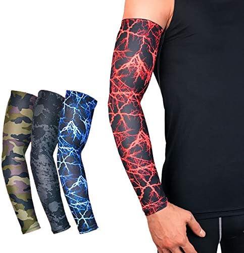 1 par de calentadores de brazos de ciclismo con protección UV para ...