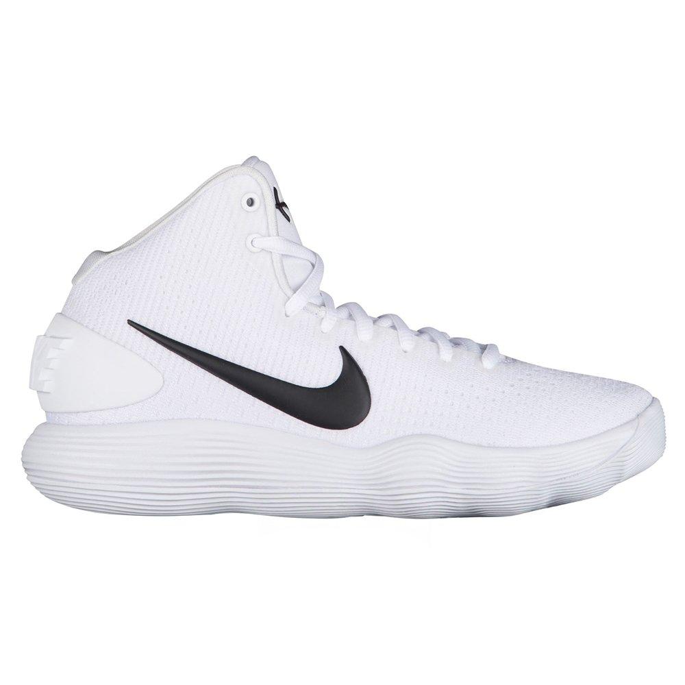 9f482bc55fc5 Galleon - NIKE Women s Hyperdunk 2017 TB Basketball Shoe White Black Size  9.5 M US