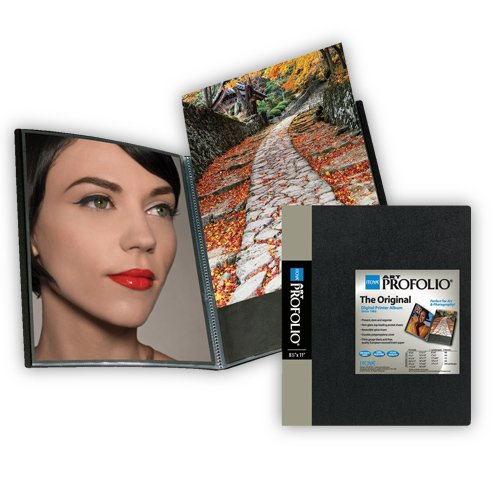 (Itoya Art Profolio Portfolio 8-10 Inches Storage Display Book, 24 Sleeves for 48 Views)