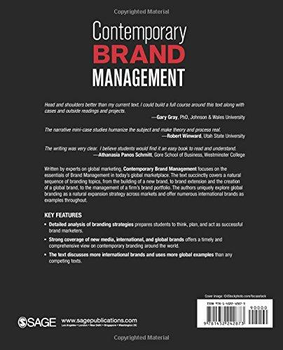 Contemporary Brand Management: Amazon.co.uk: Johny K Johansson, Kurt ...