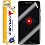[3-PACK] DeltaShield BodyArmor - Motorola Droid RAZR MAXX HD Screen Protector - Premium HD Ultra-Clear Cover Shield w/ Lifetime Replacement - Anti-Bubble & Anti-Fingerprint Military-Grade Film