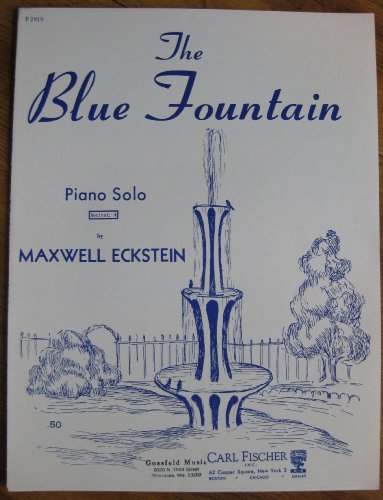 The Blue Fountain (Sheet Music) (Piano Sole No. P2919)