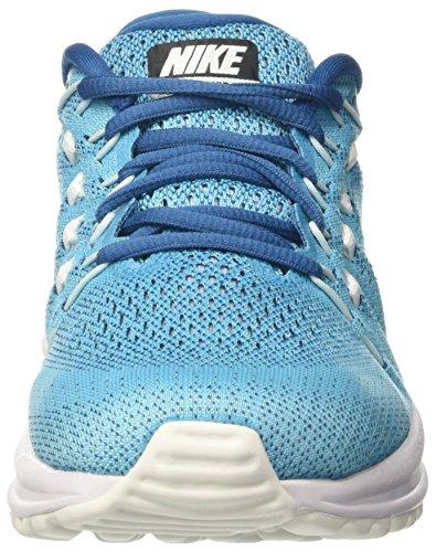 Nike Air Zoom Vomero 12, Zapatillas de Gimnasia para Hombre, Turquesa (Chlorine Blue/binary Blue), 41 EU