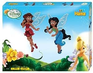 Hama 7933 - Juego creativo con cuentas, diseño de hadas Disney