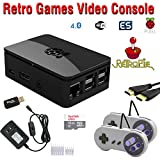 Raspberry Pi 3 Based Retro Video Game System - RetroPie - Retro Games - 16GB Edition