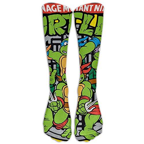 Unisex Teenage Mutant Ninja Turtles Tube Socks Knee High -