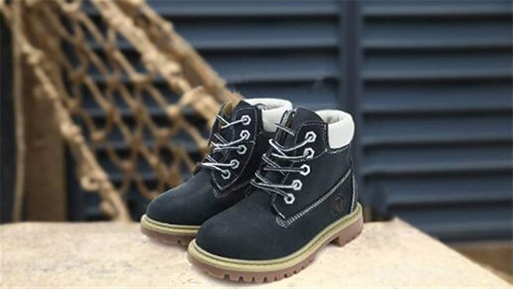 6-inch Premium Waterproof Boots /& Knit Cap Bundle 0 0 Toddler//Little Kid//Big Kid