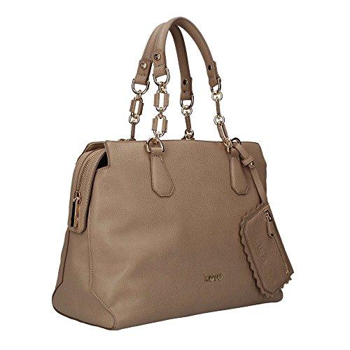 LIU JO A18001 E0027 Shopper Donna Marrone