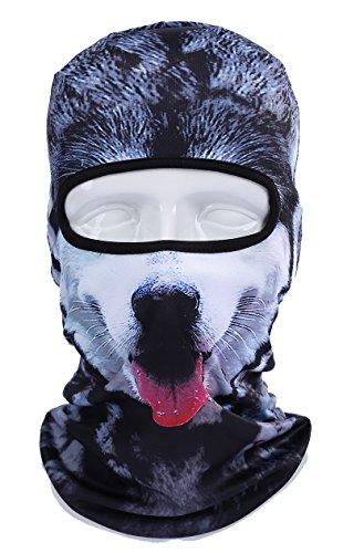 GANWAY 3D Animal Hat Outdoor Sport Cycling Mask Hood Ski Balaclava Face Cap (BBB06)
