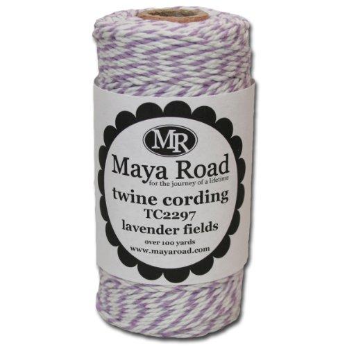 (Maya Road TC2297 Baker's Twine Cording, Lavender Fields)