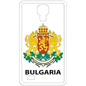 Bulgaria - Country Coat Of Arms Flag Emblem White Samsung Galaxy S4 i9500 Cell Phone Case - Cover