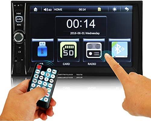MiCarBa 7653TM 車載 dvd 2din 7インチDVDプレーヤー DVDプレーヤー,ラジオ