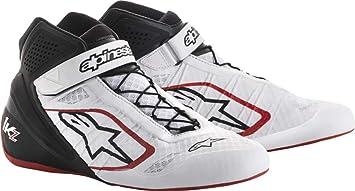 2.5 Alpinestars Mens Tech 1-K Karting Shoe Black//Fuchsia