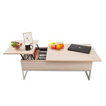Amazoncom Coffee Table Lift Top Wood Home Living Room