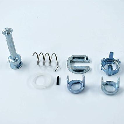 Amazon.com: labwork-parts Door Lock Cylinder Barrel Repair Kit for BMW E46 3 Series M3 Front L/R: Automotive