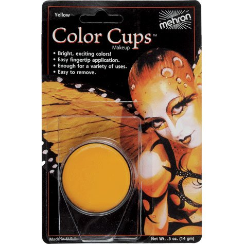 - Yellow Color Cups (1 per package)