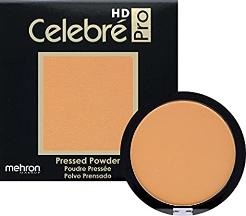 Mehron Makeup Celebre Pro-HD Pressed Powder Face & Body Makeup, MEDIUM 1 - .35oz - Lip Colour Loreal Infallible 1 Kit