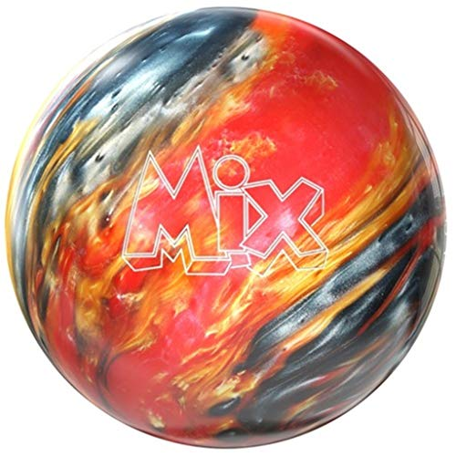 Storm-Mix-PRE-DRILLED-Bowling-Ball-RedGoldSilver-13lbs