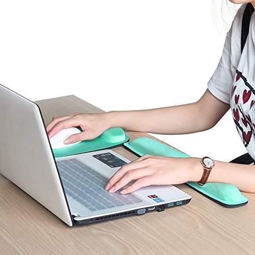 nex office mouse pad with keyboard wrist rest support. Black Bedroom Furniture Sets. Home Design Ideas
