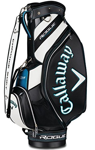 Callaway Golf 2018 Rogue Staff Cart Bag, Black/ White, (Golf Tour Bag)