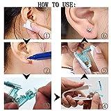 Ear Piercing Gun Kit - Silmy 4 Pack Safety Ear