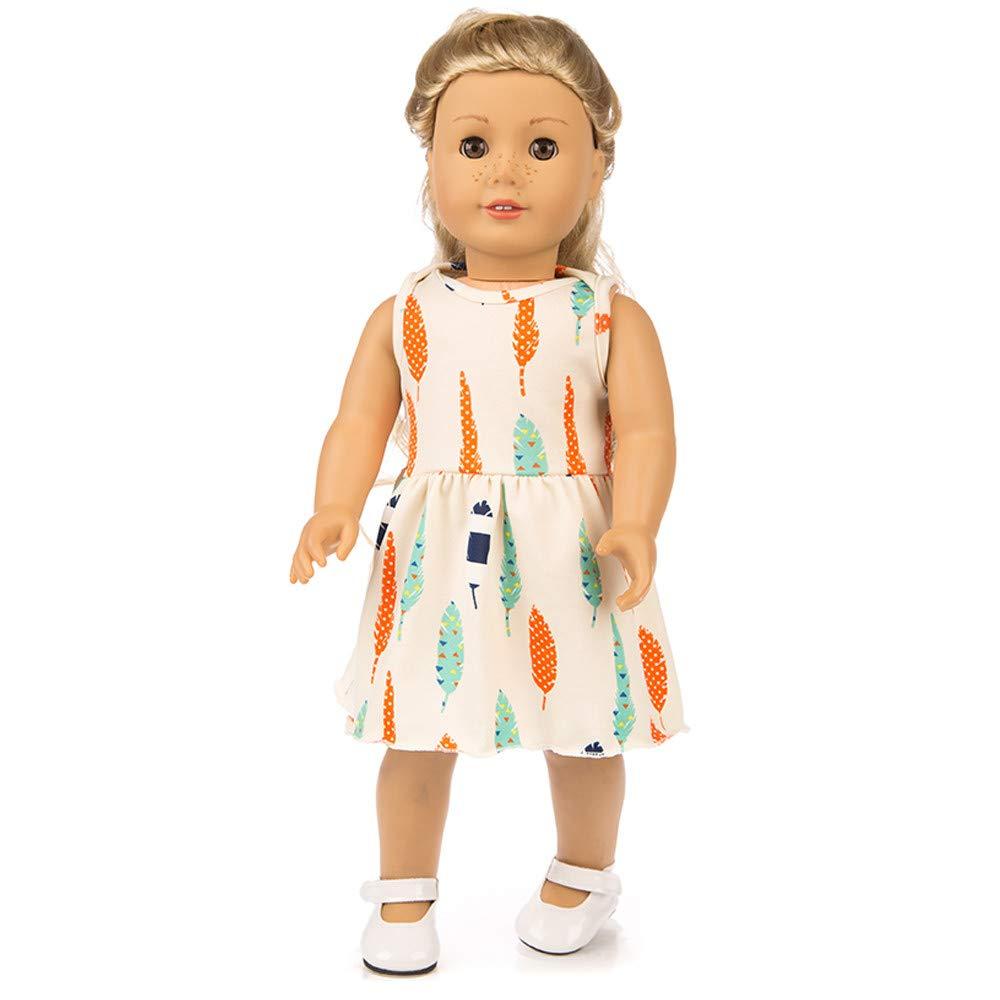 人気商品の Gbell 18インチ人形 オレンジ ドレス&下着セット American Our Generationガールドール服 アクセサリー ファッション 18インチ B07K72WK3L 18インチ ベビーガール人形 かわいい服 小さな女の子へのギフトに <br> オレンジ B07K72WK3L, NEW COLORS:0ebc6fc8 --- realcalcados.com.br