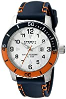 Sperry Top-Sider Men's 10014914 Diver Analog Display Japanese Quartz Blue Watch from Sperry Top-Sider Watches MFG Code