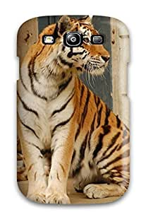 Flexible Tpu Back Case Cover For Galaxy S3 - Tiger