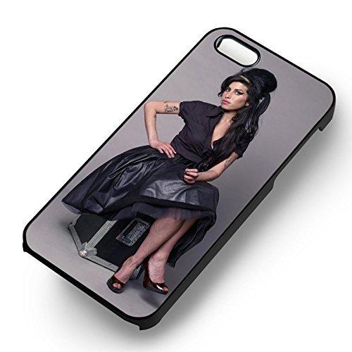 Amy Winehouse pour Coque Iphone 6 et Coque Iphone 6s Case (Noir Boîtier en plastique dur) W3F1AU