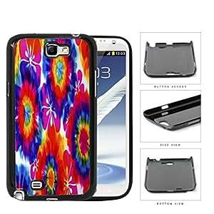 Tie Dye Hippie Flower Power Design Hard Plastic Snap On Cell Phone Case Samsung Galaxy Note 2 II N7100