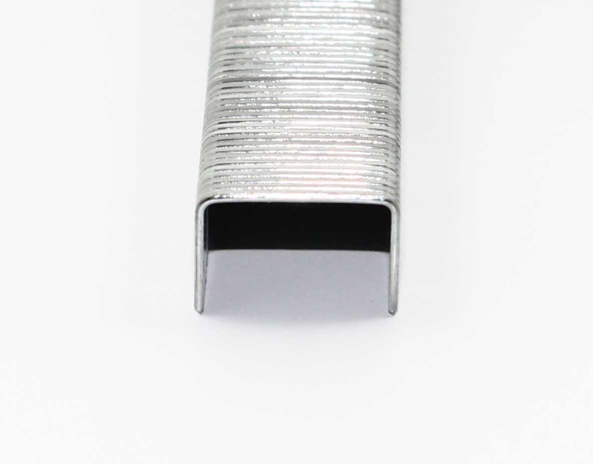 verzinkt//Heftklammern//Tacker-Klammern Ma/ße 14//11,4 Typ 53 Breite: 11,4 mm 10000 Tackerklammern L/änge: 14 mm