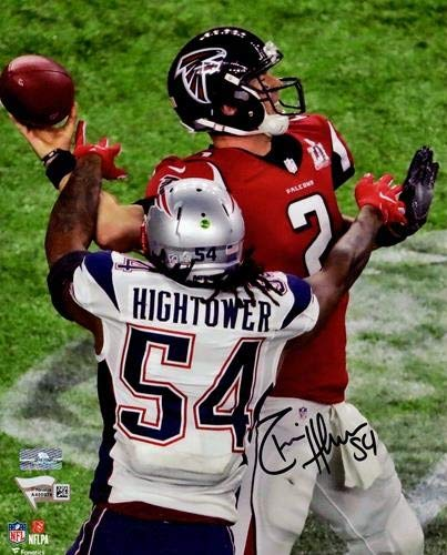 new concept 34694 3271e Dont a Hightower Autographed Signed Auto New England ...