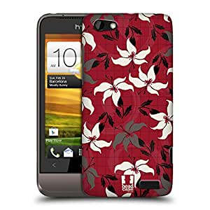 Head Case Designs Stargazer Japawaiian Pattern Protective Snap-on Hard Back Case Cover for HTC One V