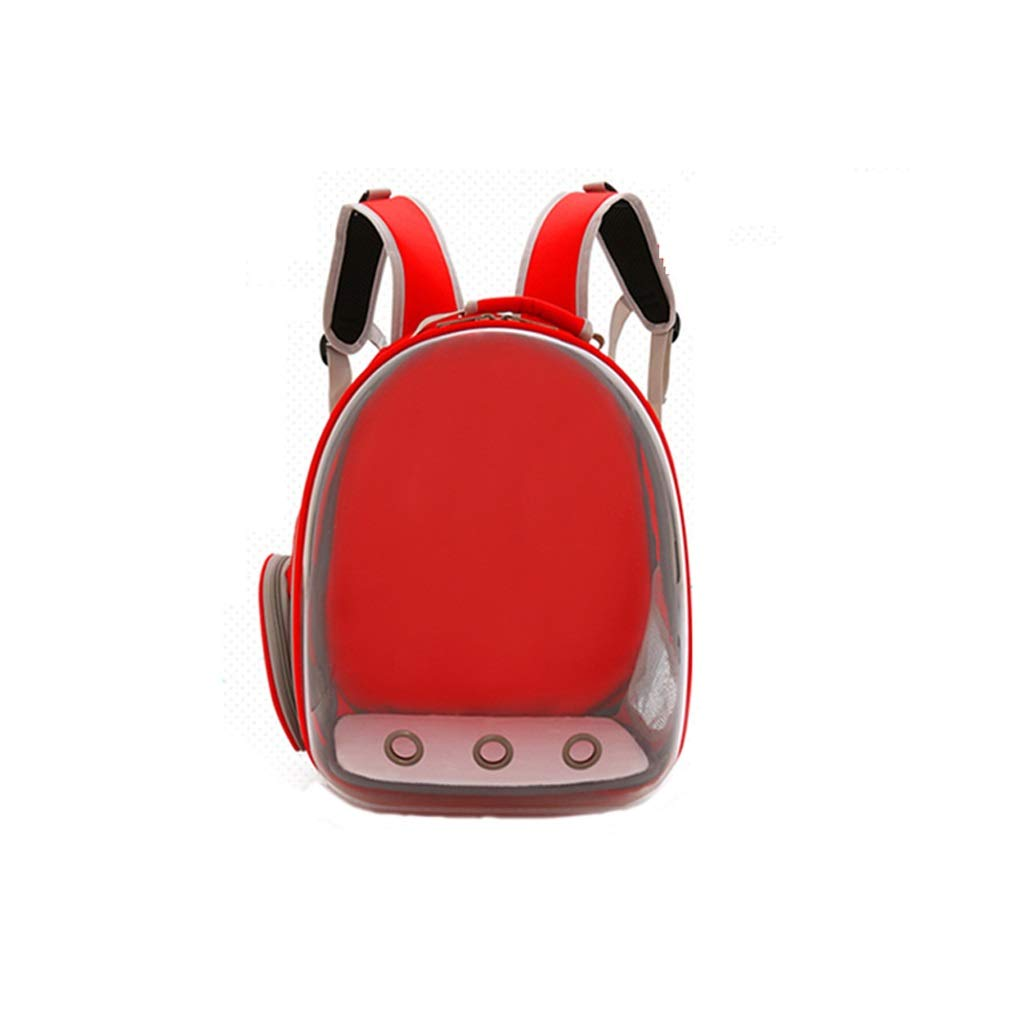 LXRZLS Pet Breathable Backpack-Portable Travel Pet Carrier Backpack. Space Capsule Bubble Design