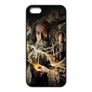 iPhone 4 4s Cell Phone Case Black ha48 desolation of smaug hobbit film face SLI_614942