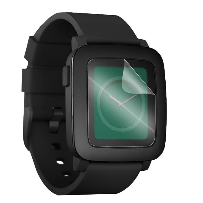awinner Protector de pantalla para Pebble Time (6-Pack ...