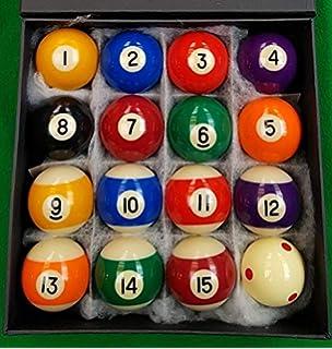 IQ Pool - Juego de bolas de billar rayadas y lisas (5 cm, incluye bola blanca): Amazon.es: Juguetes y juegos