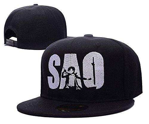 (DEBANG Sword Art Online Anime Cap Embroidery Snapback Hat)