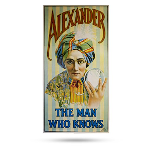 (Magic Makers Alexander The Man Who Knows - Classic Magic Poster by)