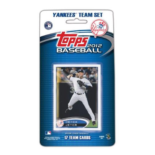 MLB New York Yankees 2012 Topps Team Sets