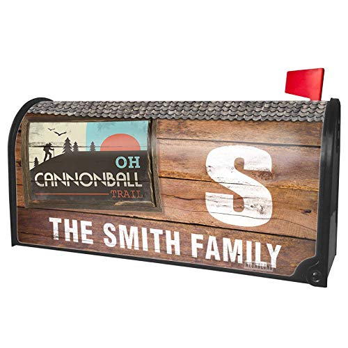NEONBLOND Custom Mailbox Cover US Hiking Trails Wabash Cannonball Trail - Ohio ()