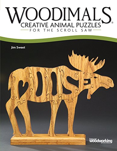 Woodimals: Creative Animal Puzzles for the Scroll Saw (Fox Chapel Publishing) 56 Fun Patterns in the Shape of Animals with the Animal's Name Inside the Design: Lion, Dolphin, Poodle, Owl, & Much More